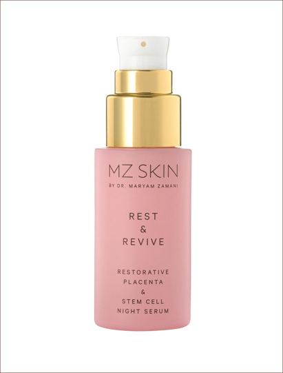 MZ Skin Rest & Revive Featured On The New HARRODS WELLNESS CLINIC