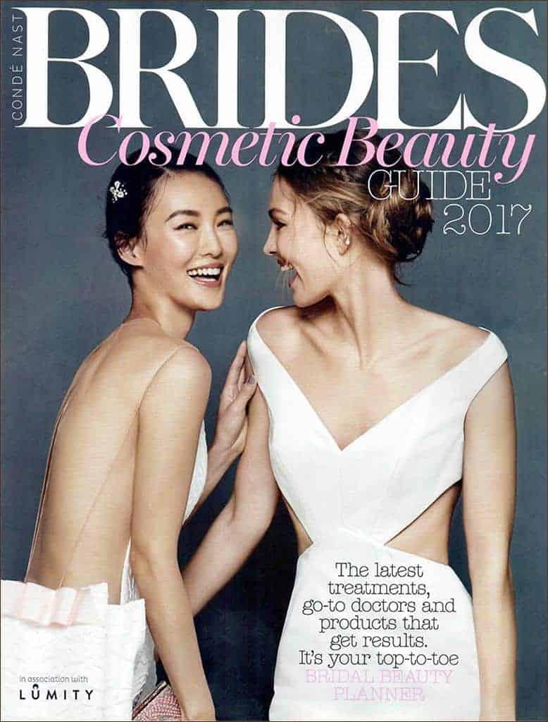 MZ Skin Featured On Brides Magazine