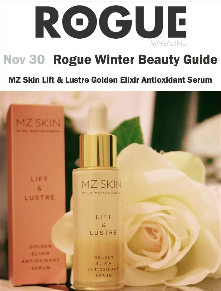 Rogue Magazine features Lift & Lustre