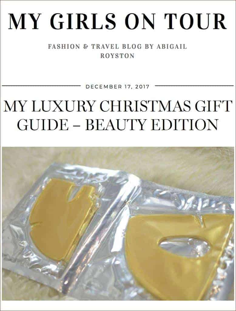 MZ Skin Golden Facial Treatment Mask Featured On My Girls On Tour