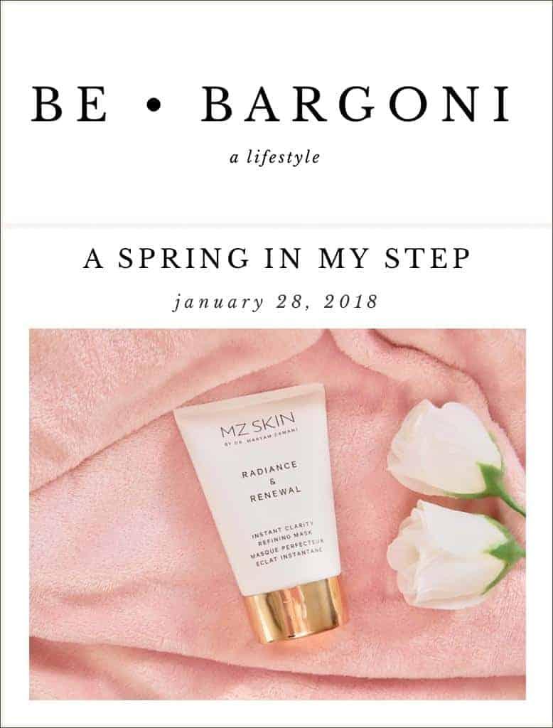 Life Style log Be Bargoni Reviewed MZ Skin Radiance & Renewal