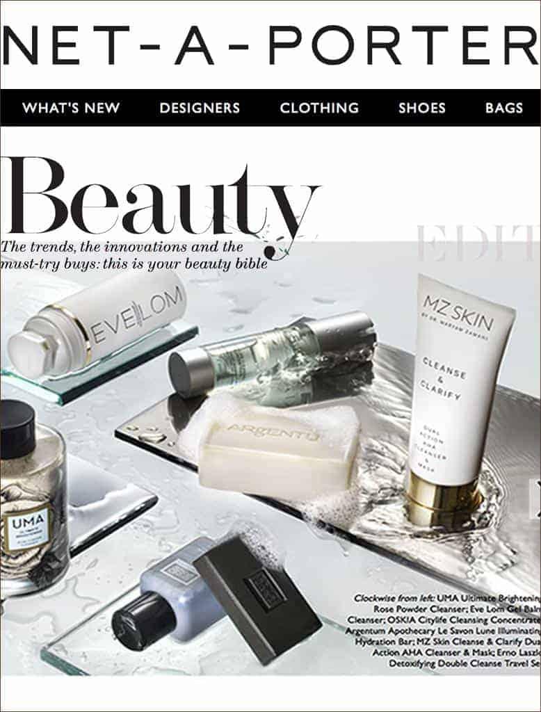 MZ Skin Featured On Nap Magazine