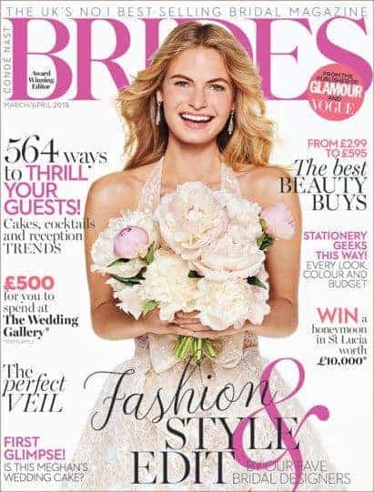 Brides Magazine features MZ Skin