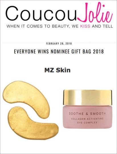 Oscars Gift Bag includes MZ Skin - CoucouJolie