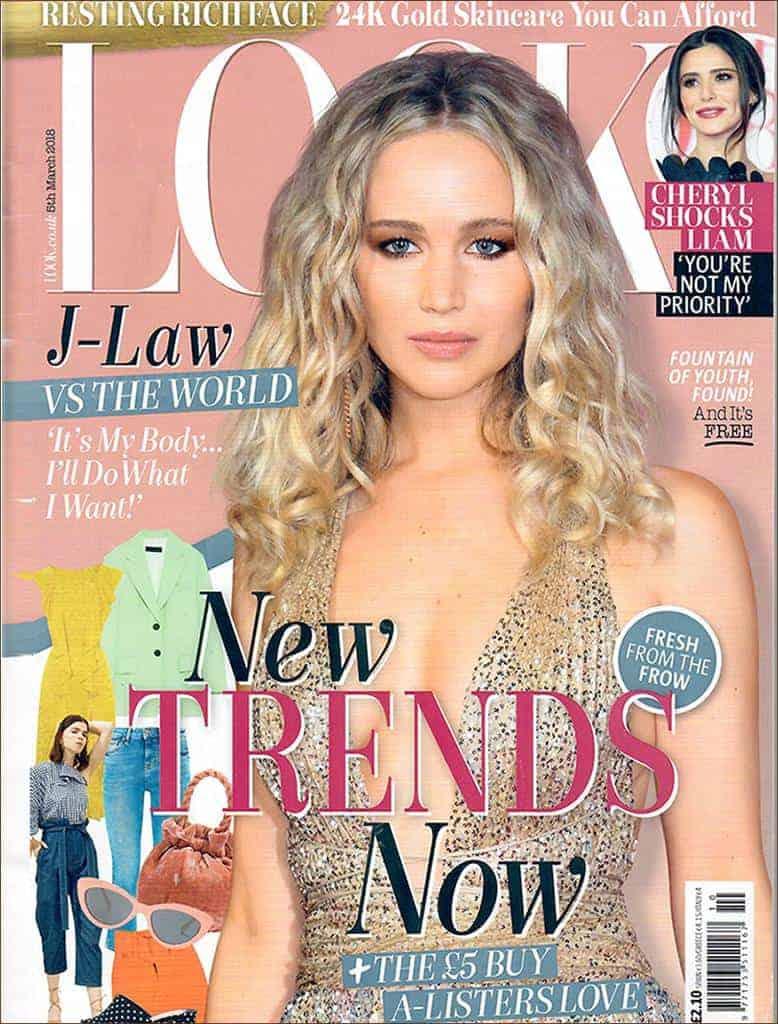 Look Magazine Features MZ Skin