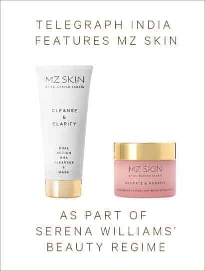 Telegraph India features MZ Skin
