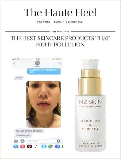 Fight irritation with MZ Skin's serum