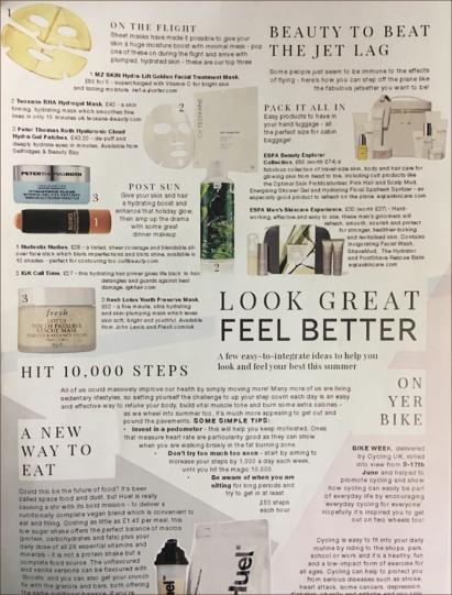 Worthing Lifestyle selects MZ skin as beauty to beat the jet lag