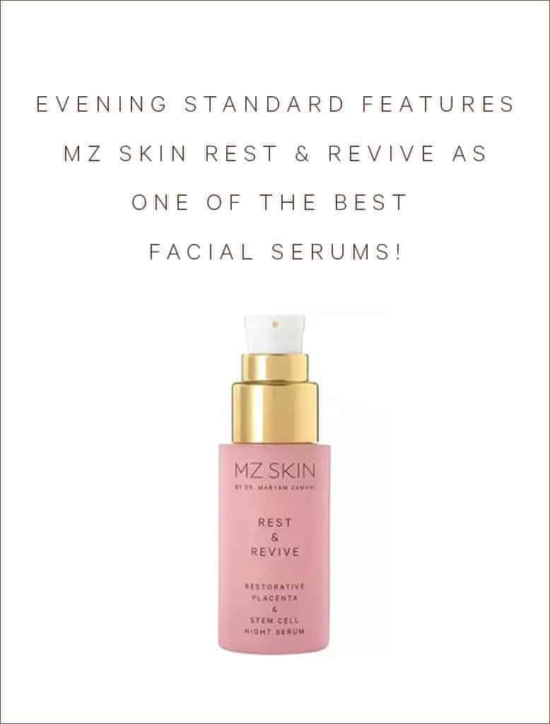 Evening Standard Includes Rest & Revive as Best Facial Serum