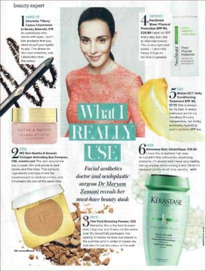 Soothe & smooth featured in woman and home magazine!