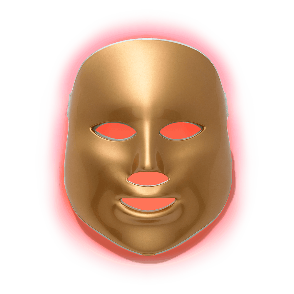 Light-Therapy Red Facial Treatment Device