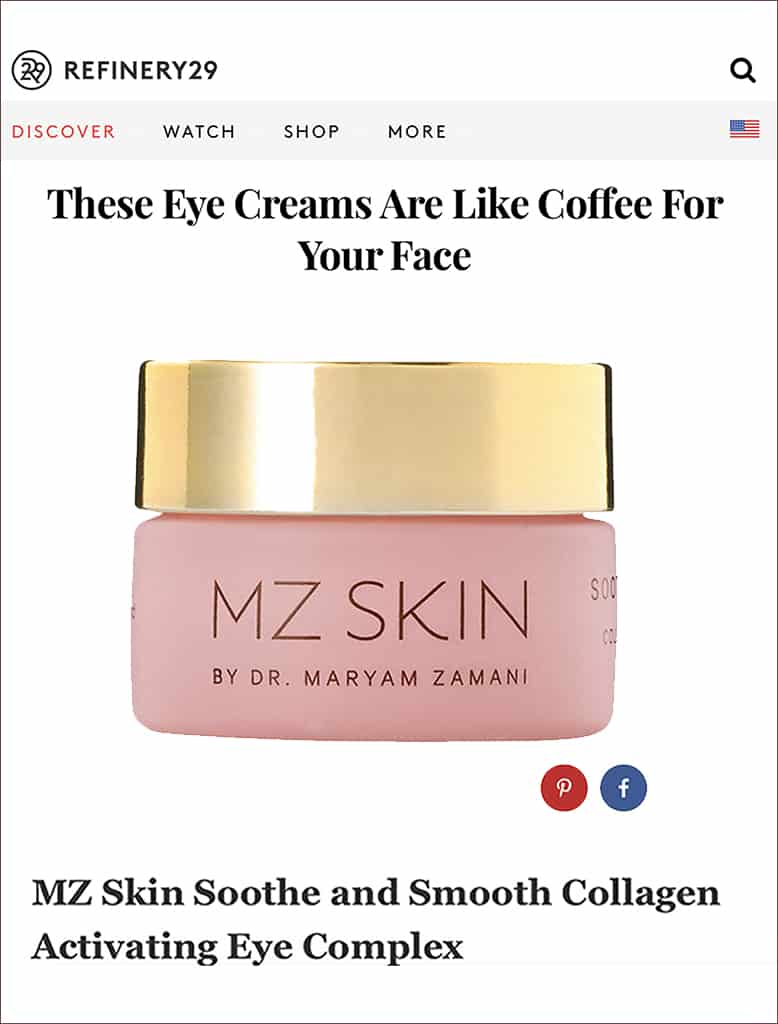 Refinery29 features Soothe & Smooth
