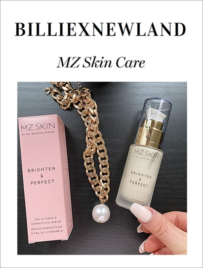 Billie Newland Reviews MZ Skin