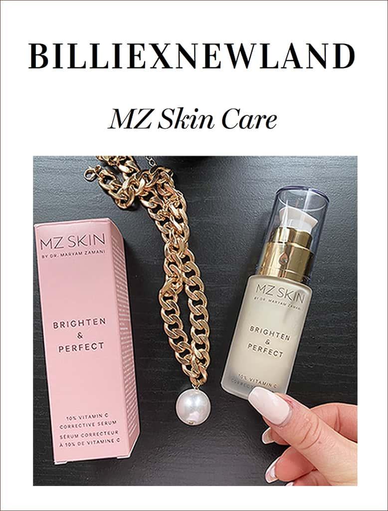 Billie Newland Reviews MZ Skin