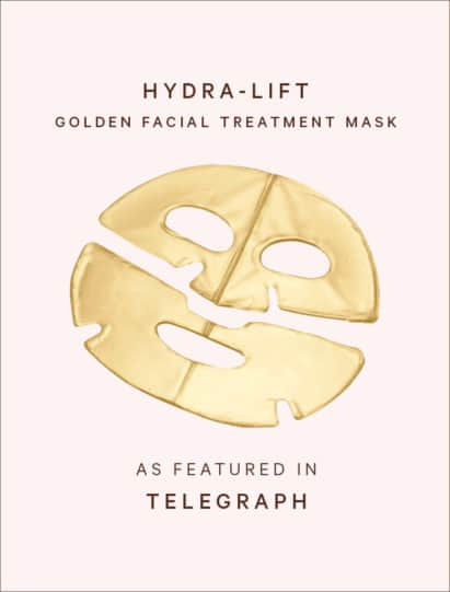 Hydra-Lift Golden Mask featured in Telegraph
