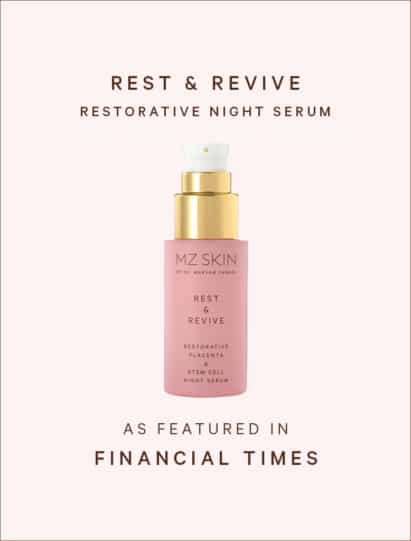 Financial Times features rest & revive restorative night serum