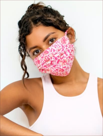 Avoid bad skin from wearing a Mask