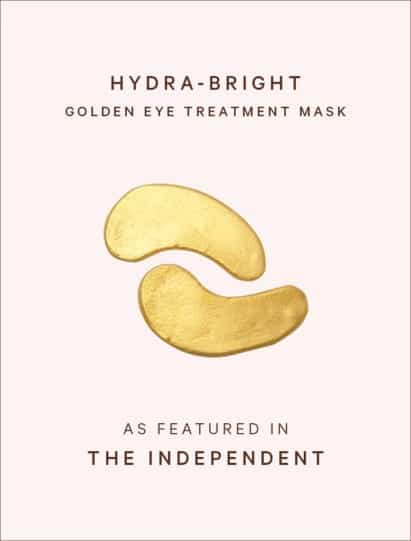 The Independent features Hydra-Bright Golden Eye Mask