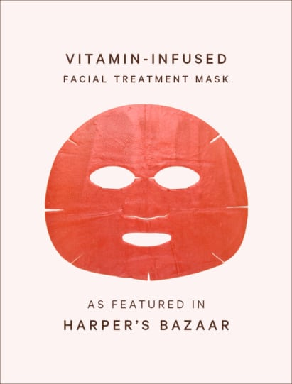 Harpers Bazaar features Vitamin-Infused Facial Treatment Mask