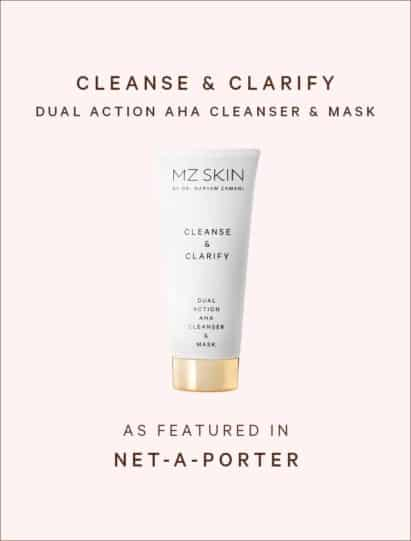 Net-A-Porter features cleanse & clarify dual action aha cleanser and mask