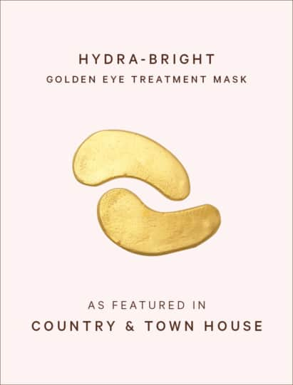 Country & Town House features Hydra-Bright Golden Eye Treatment Mask
