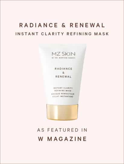 W Magazine features Radiance & Renewal Instant Clarity Mask