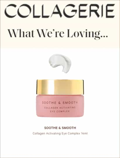 Collagerie Featuring Soothe & Smooth Collagen Activating Complex