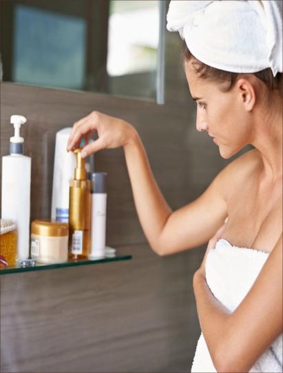 Layering skincare